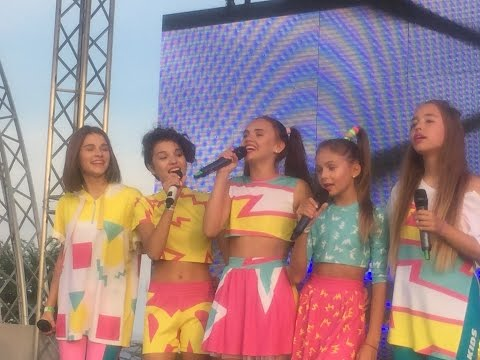 OPEN KIDS флеш моб& концерт в Fky Family Park | MILENA WAY