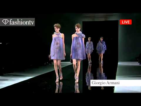 Giorgio Armani Spring/Summer 2014 | Milan Fashion Week MFW | FashionTV