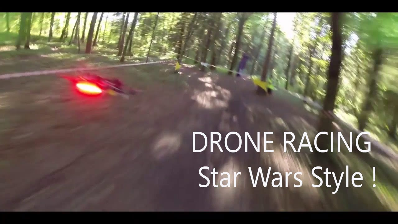 Drone Racing - Real Life Star Wars