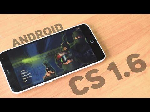 Обзор Counter-Strike 1.6 на Андроид   Review CS 1.6 for Android