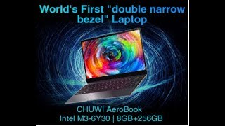 CHUWI AEROBOOK Laptop coming on 29th April..... আক্কাস