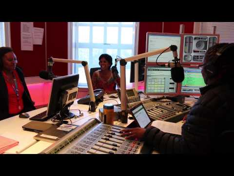 Spongebob visits Mio and Queenie on Algoa FM