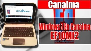 ✔ Instalar Windows 7 Ultimate a Canaima EF10MI2 ★ 2016 ★ + Drivers !! BIEN EXPLICADO!!