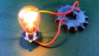Electric New For 2019 Free Energy Generator Self Running Using DC Motor With Magnet