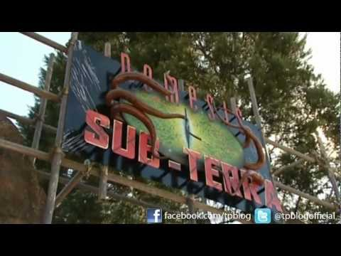Nemesis Sub Terra - ITV News Report & POV 720p - Alton Towers 2012