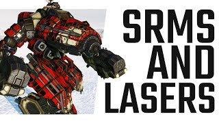 """SRMs and Lasers on the Crab """"Florintine"""" - Mechwarrior Online The Daily Dose #662"""
