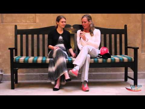 WiSP IronWomen: Dubai; Sara Gross (CAN) talks to Caroline Steffen (SUI)