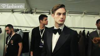 NYFW: Joseph Abboud Men Backstage at New York Fashion Week Fall/Winter 2012/13 | FashionTV FTV F MEN