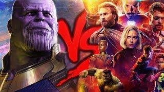 Vingadores VS. Thanos | Duelo de Titãs (ESPECIAL VINGADORES: GUERRA INFINITA)