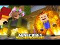 BABY LITTLE KELLY STARTS A WAR! | Minecraft HELLO BABY NEIGHBOUR!