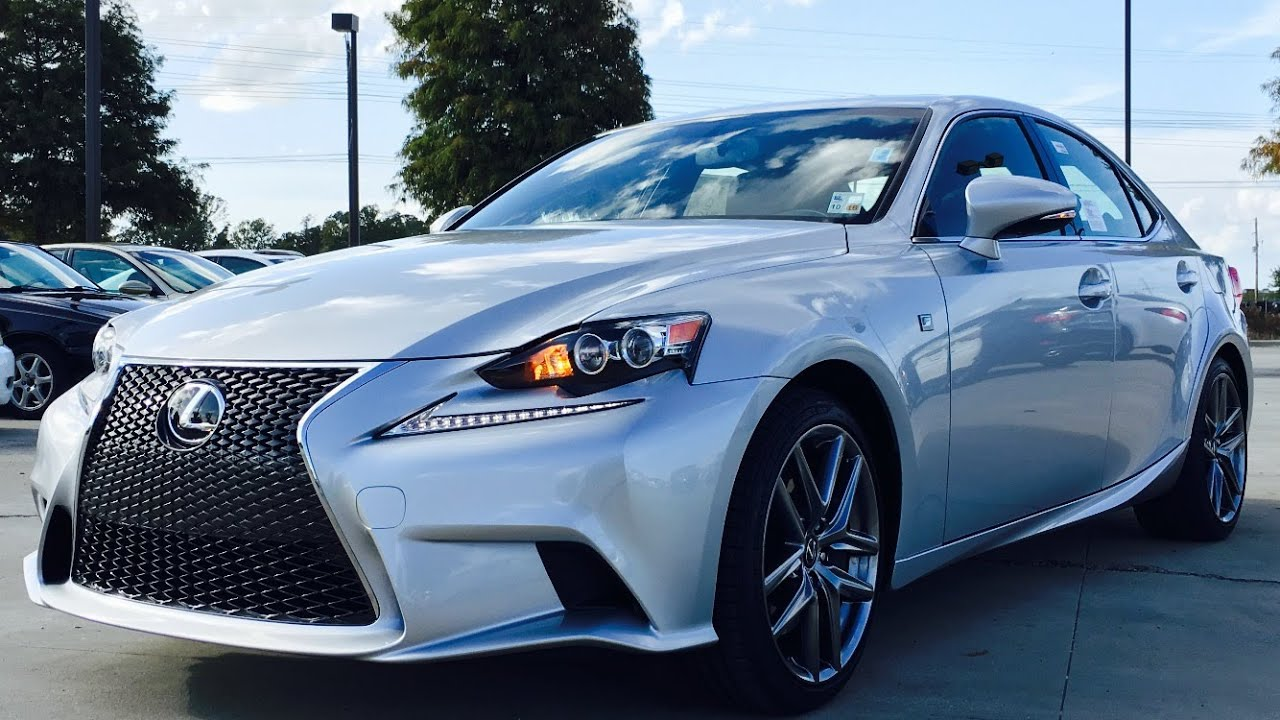 2016 lexus is350 f sport full review start up exhaust