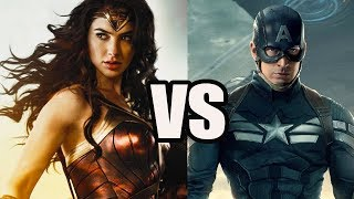 Wonder Woman vs Captain America - Who Would Win? -  Analytical Story Battle