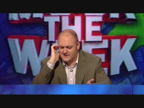 Mock The Week - Hilarious unseen David Blunkett outtake
