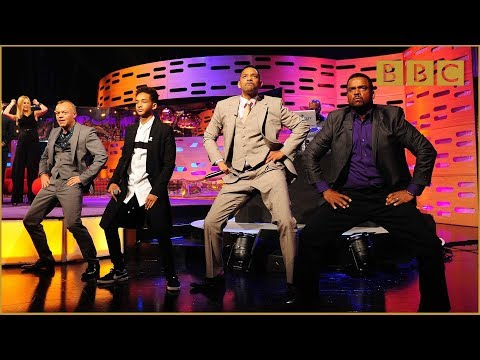 Will & Jaden Smith, DJ Jazzy Jeff and Alfonso Ribeiro Rap! - The Graham Norton Show - BBC One klip izle