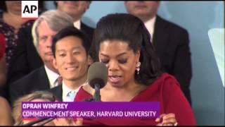 Oprah Winfrey Delivers Harvard Commencement