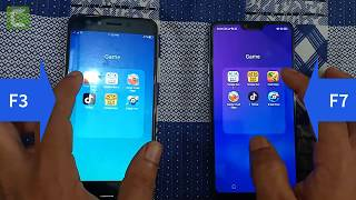 oppo f7 vs oppo f3 speed test || f3 vs f7 speed comparison  || Android Corridor