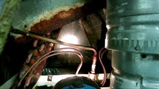 How to clean evaporator coil - AC freezing over with ice - cleaning dirty HVAC coil with cleaner