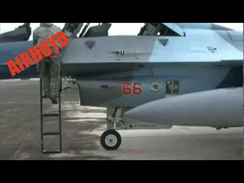 F-16 Aggressor Ground Ops Guam (2012)