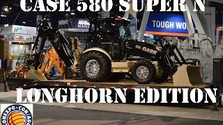 CASE 580 Super N Longhorn Edition