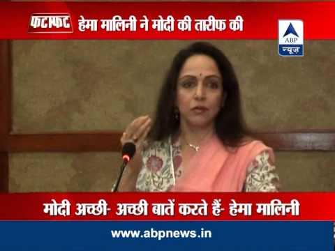 Hema Malini hails Modi