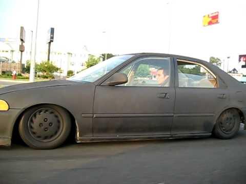 Slammed Honda Civic Youtube