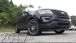 2017 Ford Explorer Sport Review in 4K ! 3.5L EcoBoost Twin Turbo V6