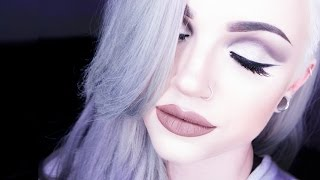 Industrial-toned Full Face Glam Makeup Tutorial