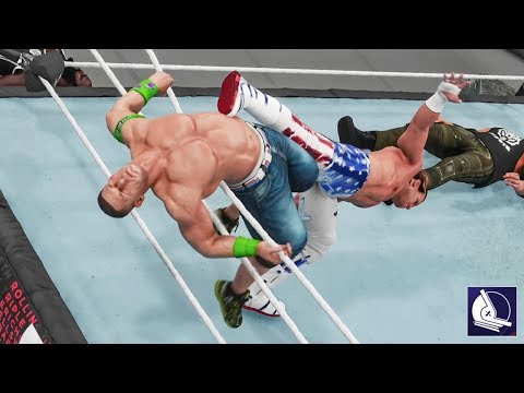 WWE 2K18: Every Royal Rumble Finisher in the game