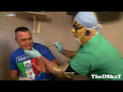 WWE Santino Marella & Goldust Funny Segment