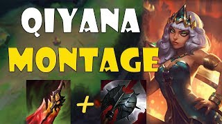 NEW CHAMPION QIYANA MONTAGE ONE SHOT AD ASSASSIN! League of Legends Season 9