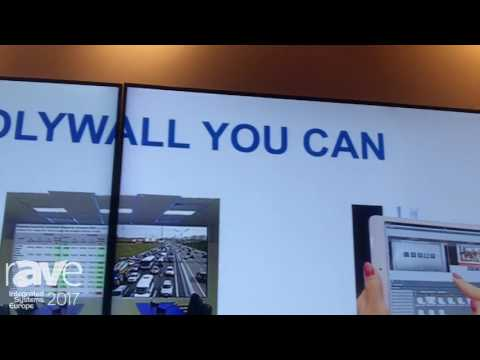 ISE 2017: Visiology Talks About Polywall Video Wall Management Software