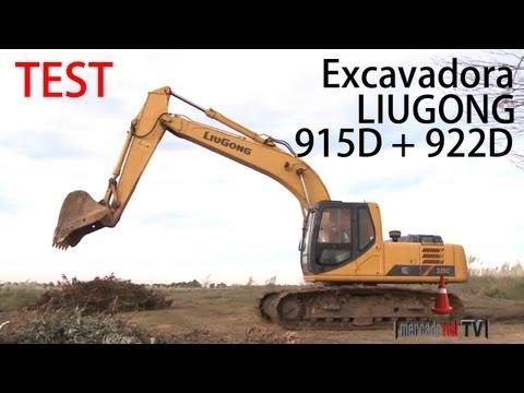 P8 - [1 de 3] - Test Excavadoras Liugong 915D + 922D - ZMG Argentina