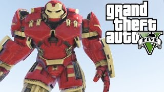 GTA V: CRAZY HULKBUSTER (Iron Man Mark 44)