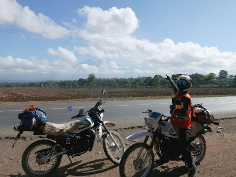 Kenya, Tanzania and Mozambique on a DT175