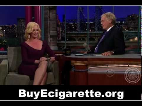 Katherine Heigl Tells David Letterman About Her E-Cigarette Addiction