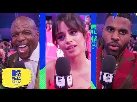 Little Mix, Camila Cabello & More Stan BTS & Ariana Grande | MTV EMAs 2018