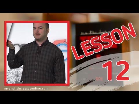 Lesson 12: Simple Present Tense