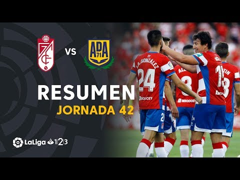 Resumen de Granada CF vs AD Alcorcón (2-1)