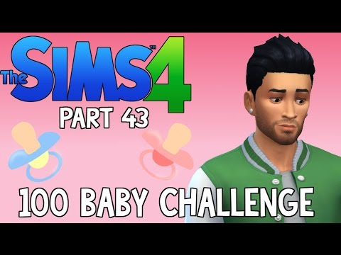The Sims 4: 100 Baby Challenge - Poor Zayn Malik (Part 43)