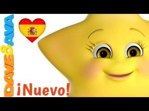 🌟 Сanciones Infantiles   Estrellita, ¿Dónde Estás?   Canciones Infantiles en Español de Dave y Ava 🌟