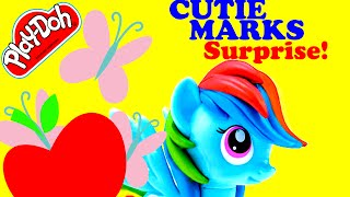 MY LITTLE PONY CUTIE MARKS—Surprise Eggs Play Doh Thomas & Friends SpongBob Squarepants