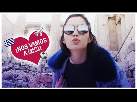 -¡NOS VAMOS A GRECIA!- MICHELLE CALVÓ