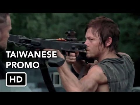 0 The Walking Dead 3x09 Taiwanese Promo The Suicide King (HD)