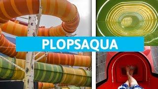 Plopsaqua De Panne - Alle Rutschen / Glijbanen Onride! || All water rides at Plopsaqua (POV)