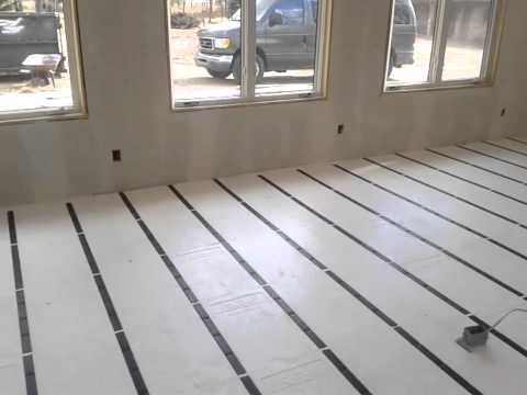 Insulated concrete slab foundation makeup guides for Icf concrete floors
