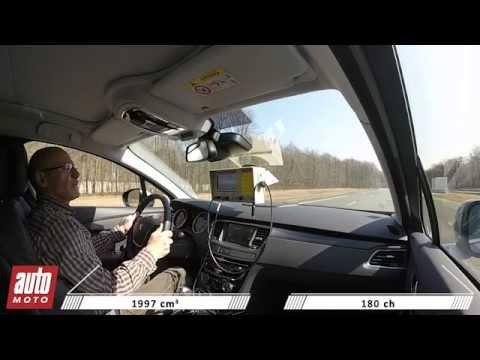 Peugeot 508 RXH - Freinage d'urgence : coup de coeur AutoMoto 2015
