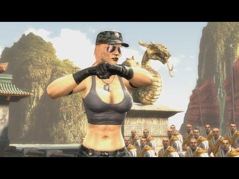 Mortal Kombat 9 Sonya Blade Expert Ladder