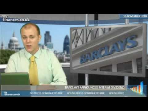 Barclays announces interim dividend