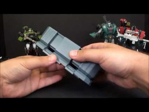 T2RX6 Reviews: MGS-03 Hound and Ravage Upgrade and Igear W-01 Kup And Perceptor Upgrade