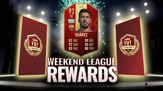 FUT CHAMPIONS ELITE REWARDS 😱 CAN WE PACK 93 RED SUAREZ AGAIN?!? 😎 FIFA 19 FUT CHAMPS PACK OPENING
